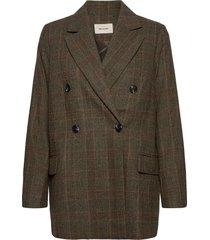 stegastein check blazer 20-04 blazers over d blazers bruin holzweiler