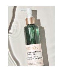 amaro feminino biossance óleo de limpeza antioxidante com esqualano - 200ml, neutra