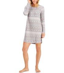 charter club soft knit sleep shirt, created for macy's