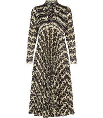 carol dress knälång klänning multi/mönstrad birgitte herskind
