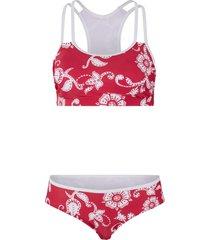 bikini a bustier (set 2 pezzi) (fucsia) - bpc bonprix collection