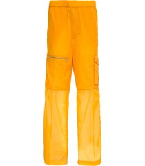 moncler genius cargo trousers in ripstop nylon by 1952