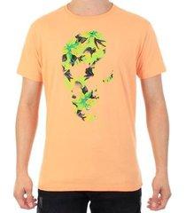 camiseta slim fit palmas kull masculina - masculino