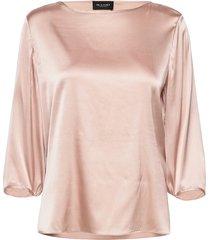 3176 - nova blouse lange mouwen roze sand