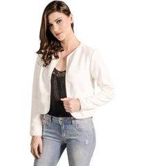 casaco manga longa lume feminino