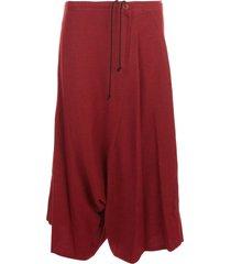 ys o-waist string sarouel skirt