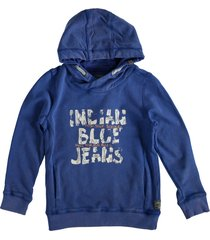 indian blue zachte sweater hoodie royal blue