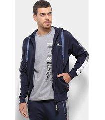 jaqueta gangster faixa lateral masculina