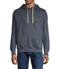 onia men's nico kangaroo hoodie - charcoal - size m