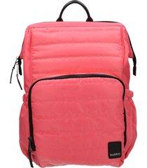 mochila rosa bubba mom