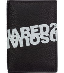 dsquared2 double logo wallet