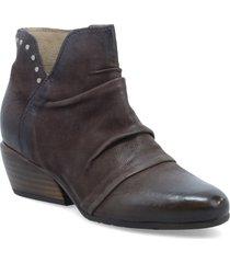 women's miz mooz leon bootie, size 5.5-6us - brown
