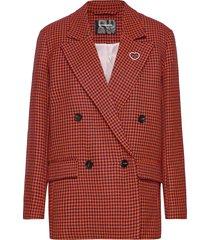agnes by nbs blazers over d blazers röd custommade