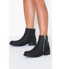 johnny bulls low zip boot flat boots