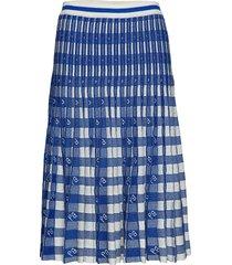 cyrilla knälång kjol blå baum und pferdgarten