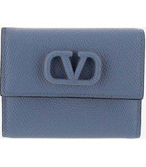 valentino designer wallets, navy wallet