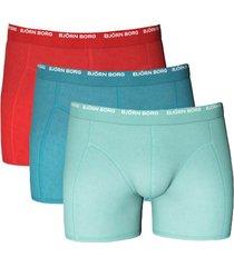 bjorn borg short basic 3-pak pool blue