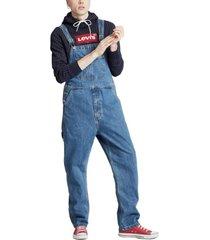 macacão jeans levis - 10001 azul - kanui