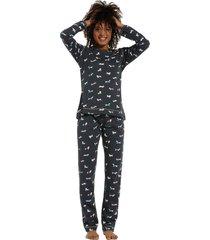 dames pyjama rebelle 21202-400-2-46