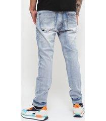 jeans ellus celeste - calce ajustado