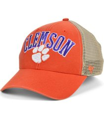 '47 brand clemson tigers outland trucker cap