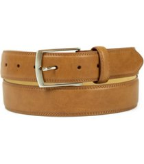 weatherproof men's big and tall belt with single prong buckle