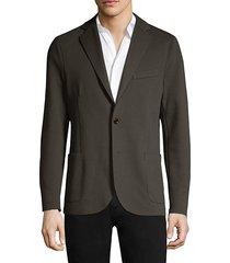 classic-fit suit jacket