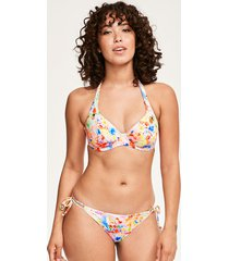 endless summer underwire banded halter bikini top