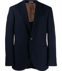 brunello cucinelli formal blazer - blue