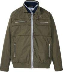 giacca a collo alto (verde) - john baner jeanswear