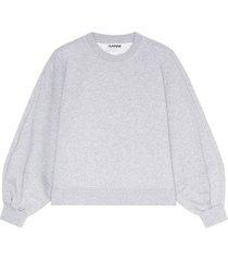 software isoli sweatshirt in paloma melange