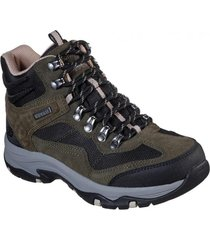 botin verde trego base camp skechers