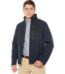 chaqueta azul navy nautica