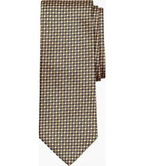 corbata florette dorado brooks brothers