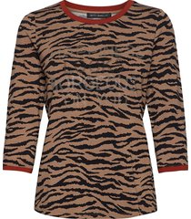 shirt short 3/4 sleeve t-shirts & tops short-sleeved brun betty barclay