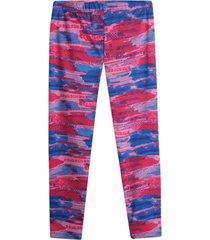 leggings sport mujer difuminado color rosado, talla xl