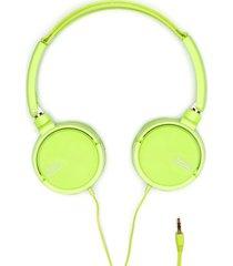 audifonos verde color verde, talla uni