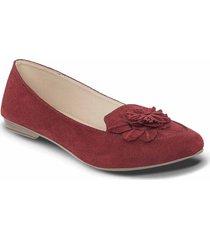 baletas stacy rojo para mujer croydon