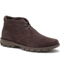 botin hombre mitch chocolate cat