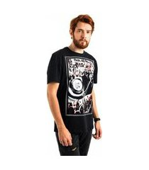 camiseta aes 1975 rock and roll masculina