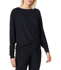 women's joie jennina drop shoulder sweater, size xx-small - black