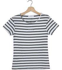 camiseta blanco-negro mng