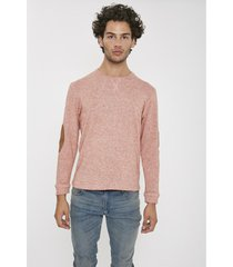buzo rosa airborn wool
