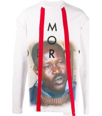 a-cold-wall* modern detachable sleeve sweatshirt - grey