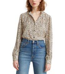 levi's women's sorrel button-up shirt