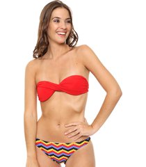 bikini multicolor lecol talles reales romina