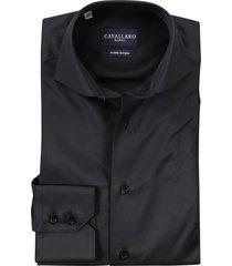 cavallaro dress overhemd zwart