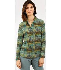 blouse mona groen::mint