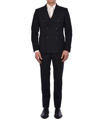 tonello blue wool suit