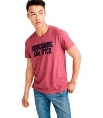 camiseta abercrombie gráfica masculina